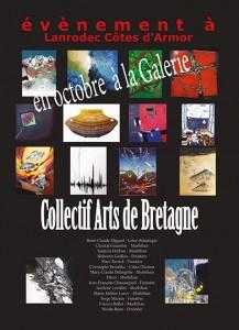 exposition du Collectif Arts de Bretagne à Lanrodec 2014