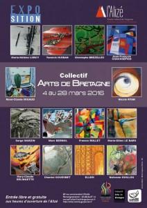 Collectif Arts de Bretagne espace culturel l'Alizé Guipavas