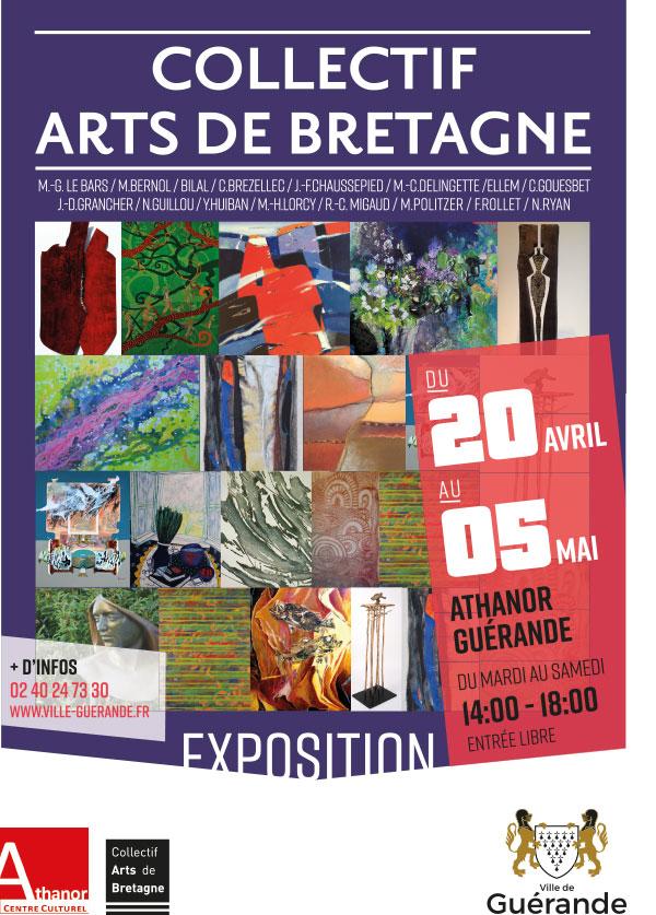 Exposition cu Collectif Arts de Bretagne à Guérande