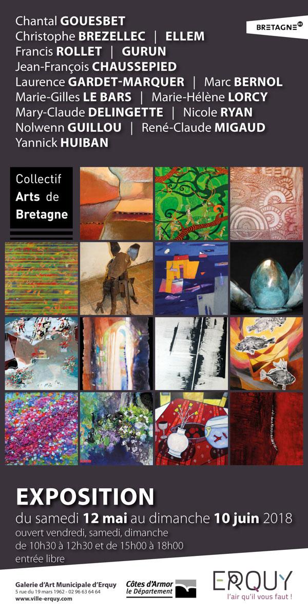 Exposition du Collectif Arts de Bretagne à Erquy