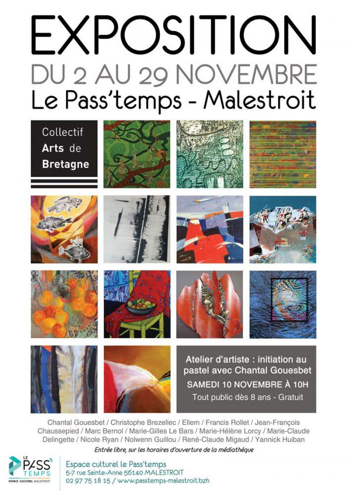 Exposition du Collectif Arts de Bretagne à Malestroit