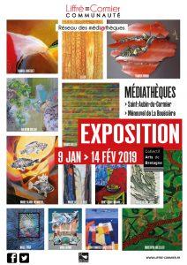 exposition du Collectif Arts de Bretagne à Liffré-Cormier