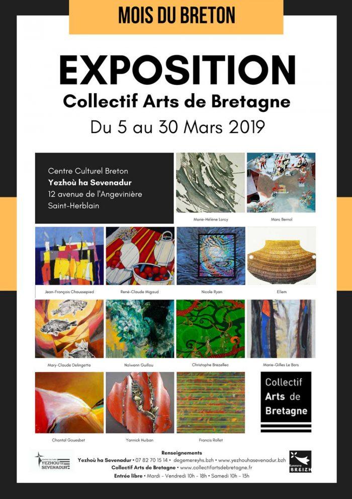 Exposition du Collectif Arts de Bretagne à Saint-Herblain