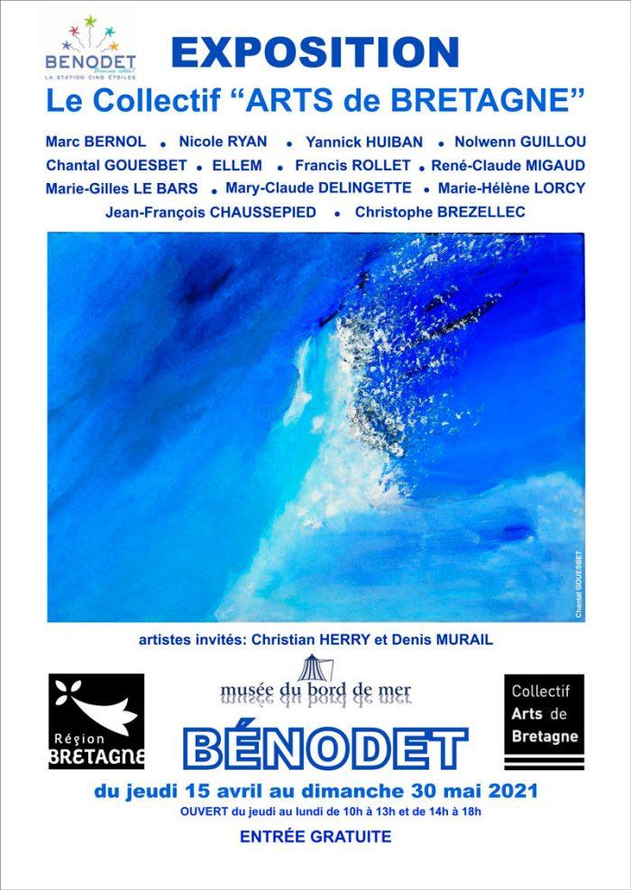 Exposition – Collectif Arts de Bretagne – Bénodet – 15 avril-30 mai 2021